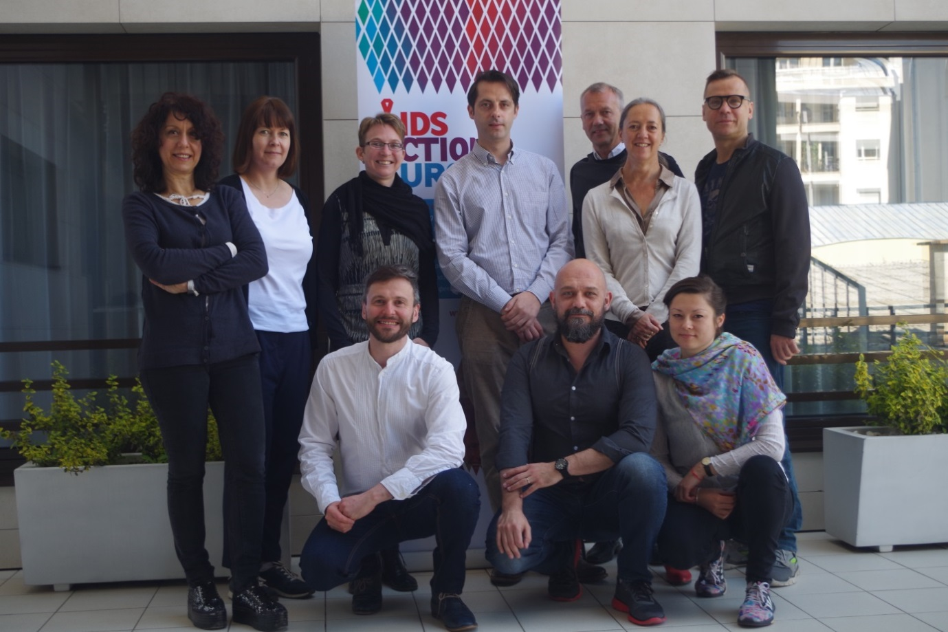 AIDS Action Europe's Steering Committee and Office 2016