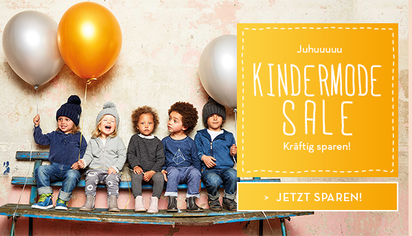 Kindermode-Sale bei bellybutton.de