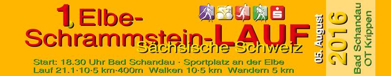 Elbe-Schrammstein-Lauf in Bad Schandau