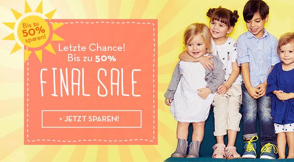 Final Sale bei bellybutton.de - bis zu 50% reduziert