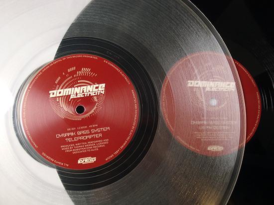 Dynamik Bass System - Teleprompter vinyl