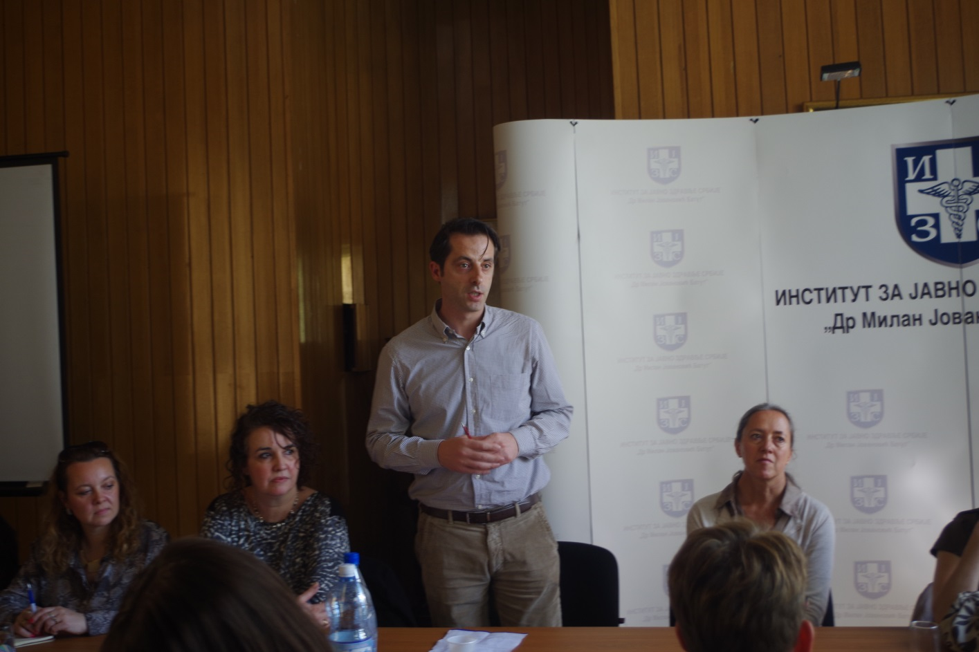 Sustainability of programmes and recurring stock-outs concern the Serbian civil society