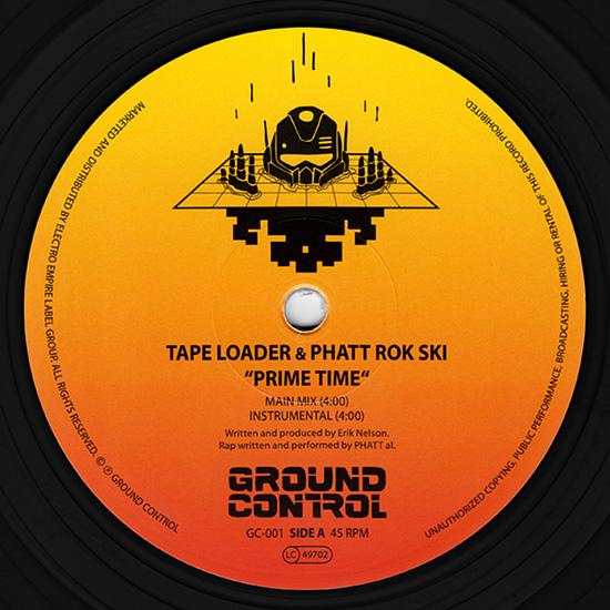 Tape Loader & Phatt Rok Ski vinyl