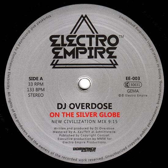 DJ Overdose - On The Silver Globe
